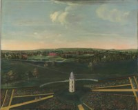 View of Dogmersfield Park, Hampshire