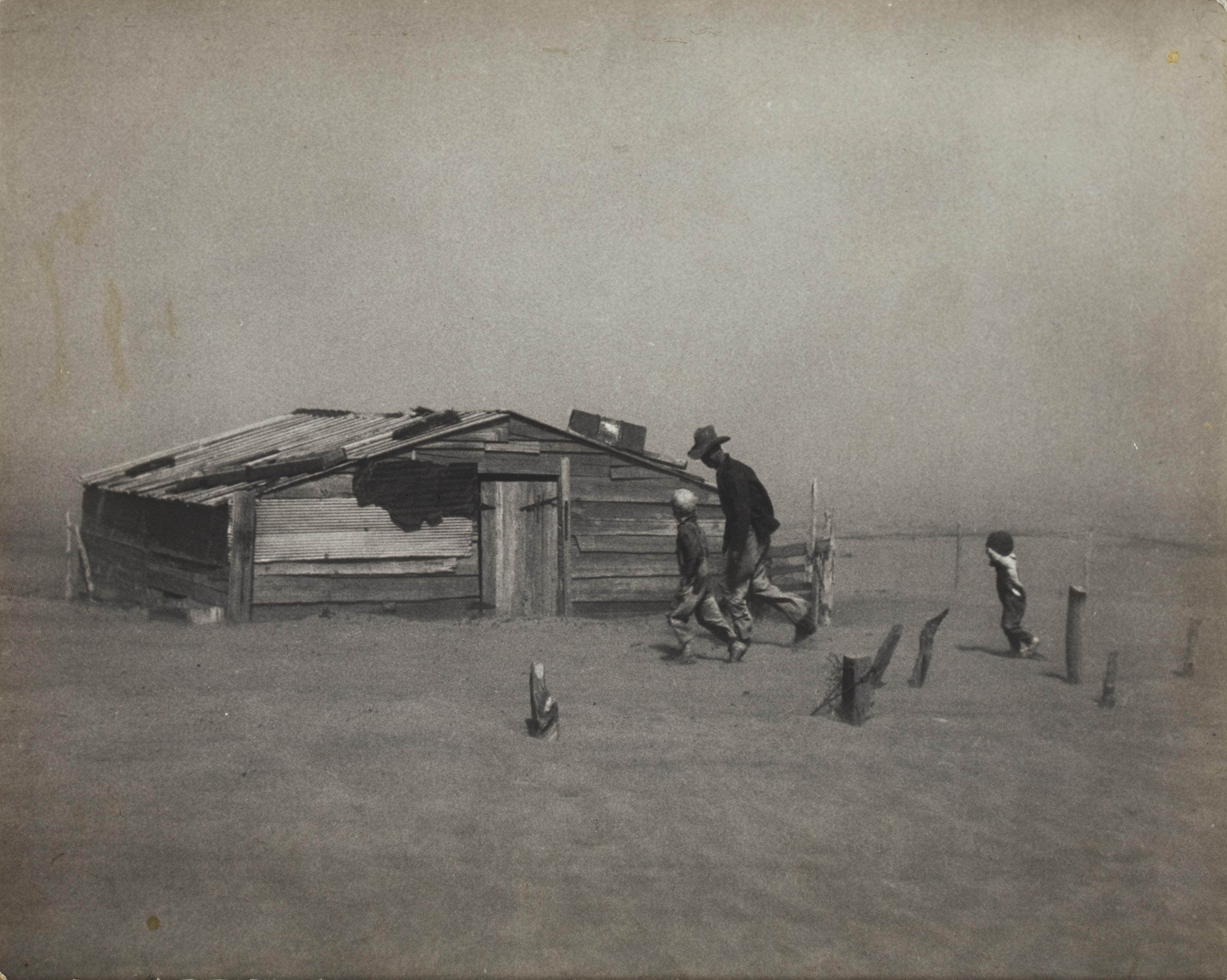 Dust Storm, Cimarron County, Oklahoma, 1939