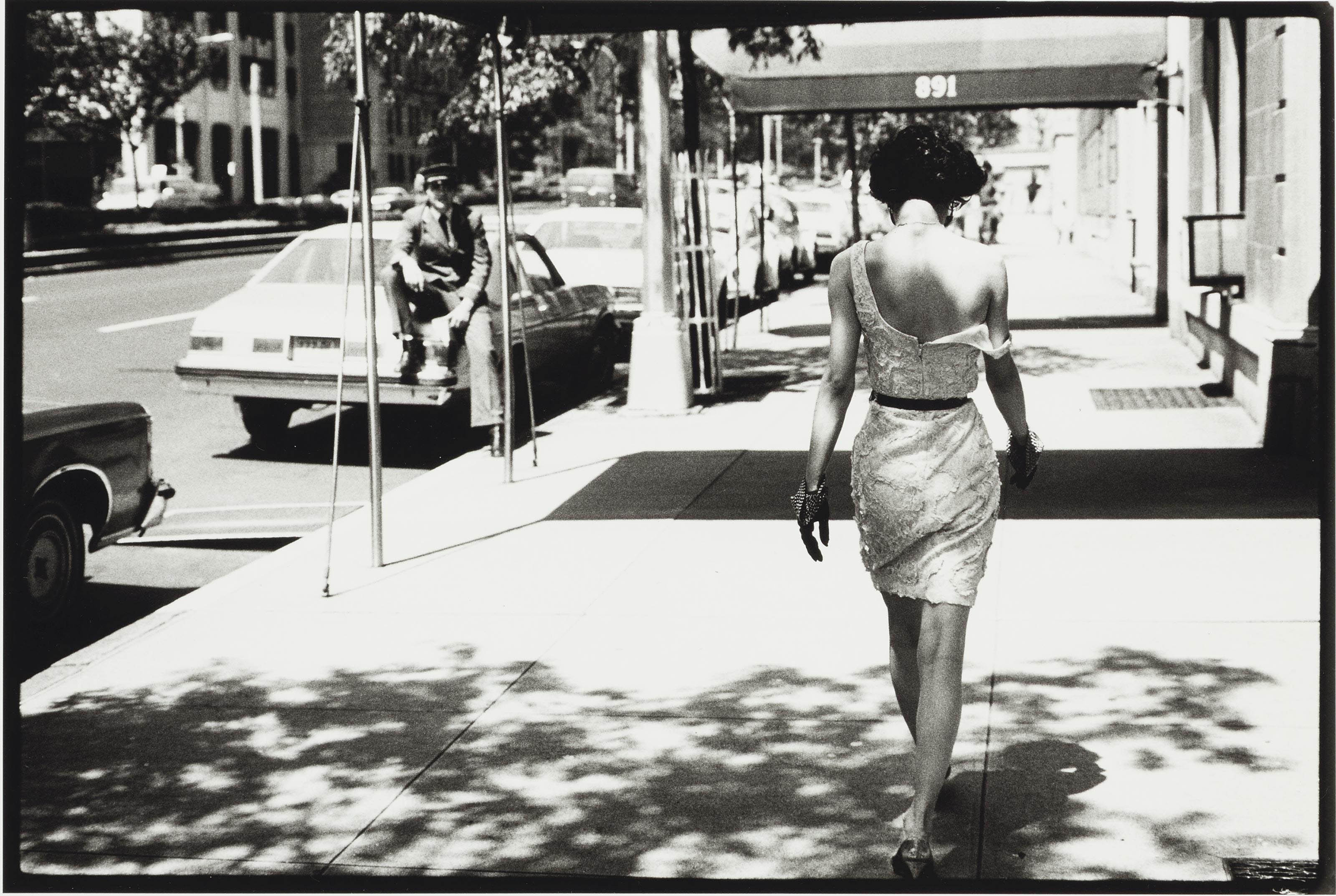 Wendy Whitelaw on Park Avenue, New York, 1981