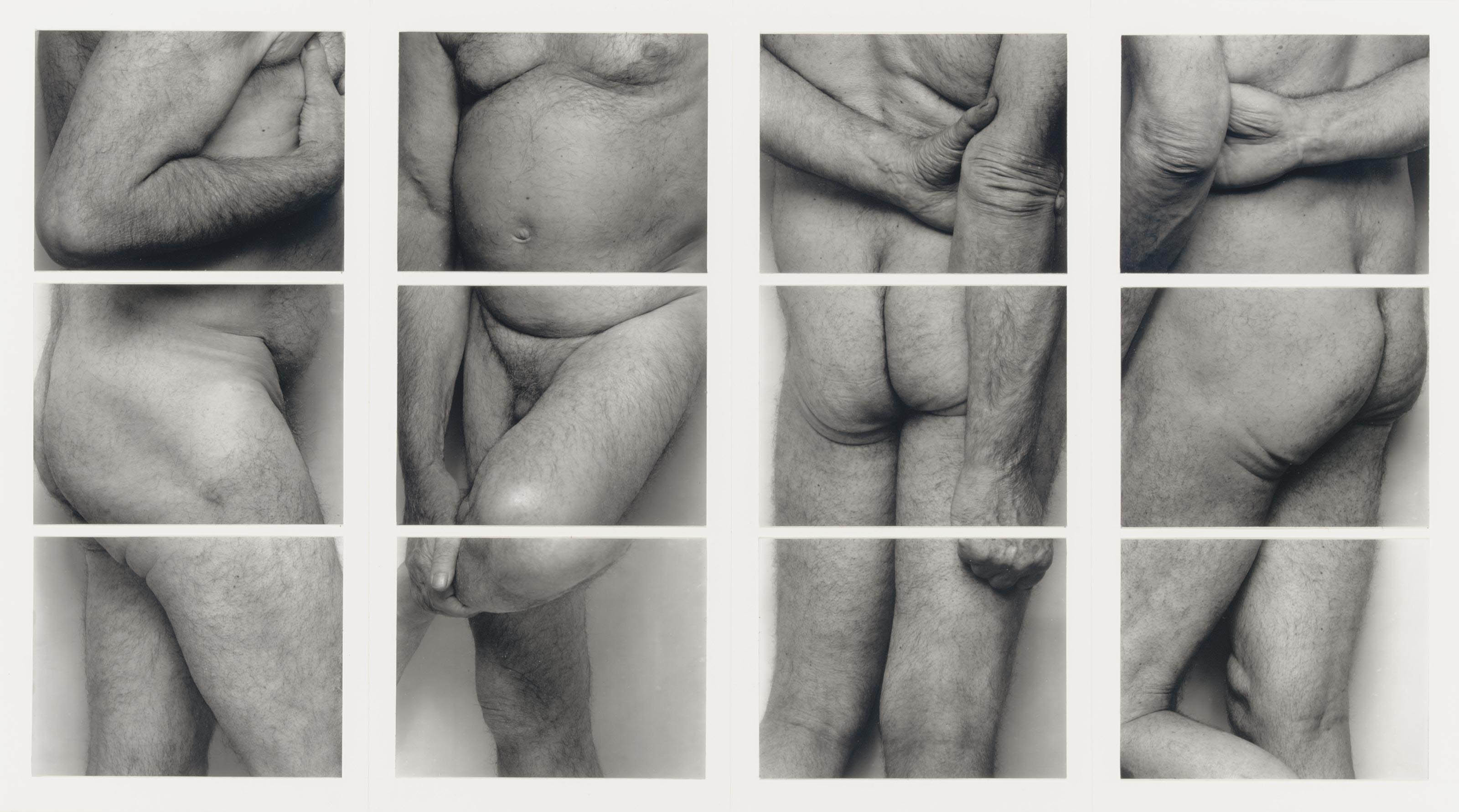 Self Portrait (Frieze, No. 2, Four Panels), 1994