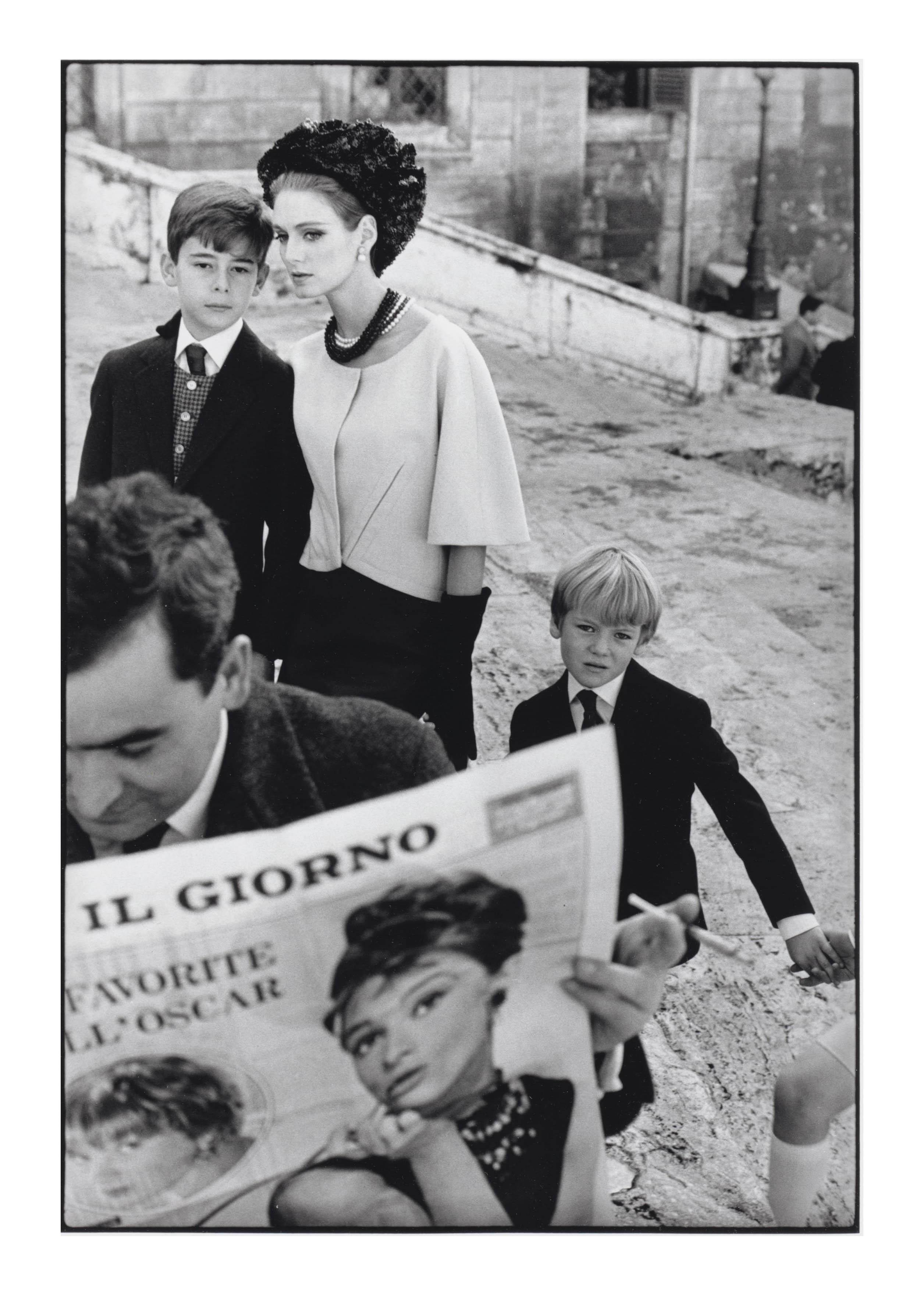 Deborah Dixon, for 'Harper's Bazaar', Rome 1962
