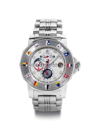 Corum. A Stainless Steel Autom