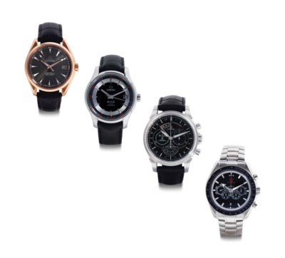 Omega. A Lot of Three Stainles