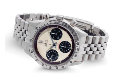 Rolex.  A Fine And Rare Stainl
