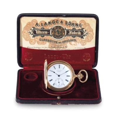 A. Lange & Söhne. A Fine 18k G
