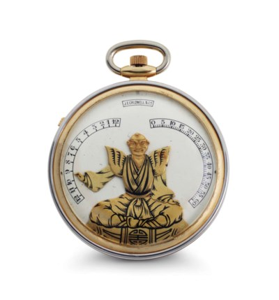 Verger Freres. A Fine 18k Two-