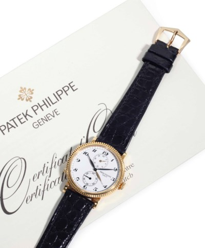 Patek Philippe. An 18k Gold Du
