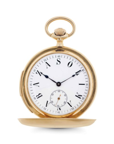 Swiss. An 18k Gold Minute Repe