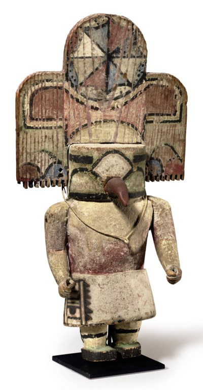 RIO GRANDE KACHINA WITH TABLET