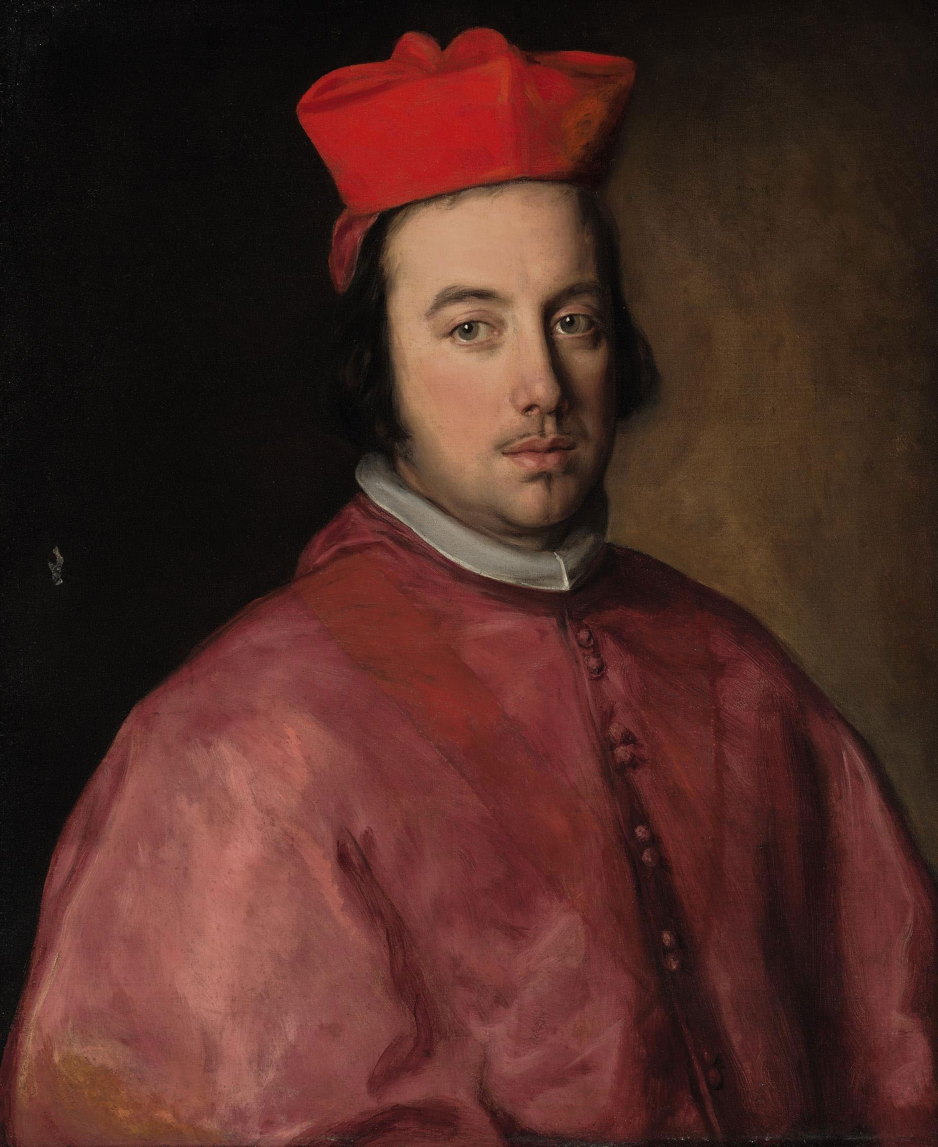 Portrait of Cardinal Luis Antonio Fernandez de Portocarrero (1635-1709), bust-length
