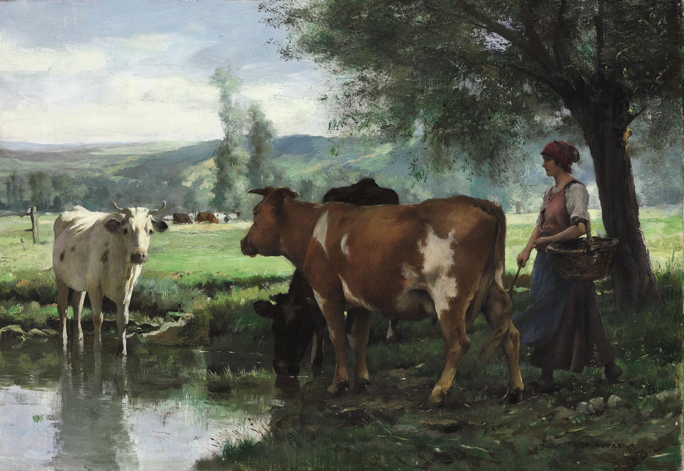 La gardeuse de vaches