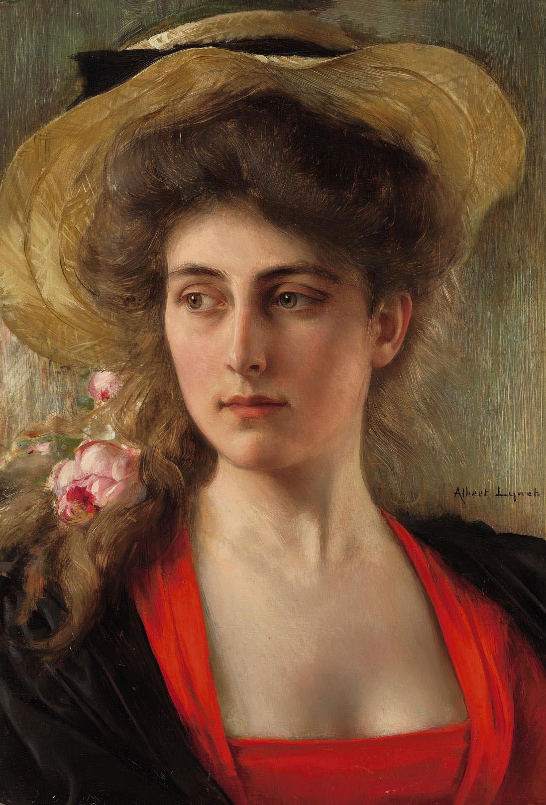 Peinture tête de femme