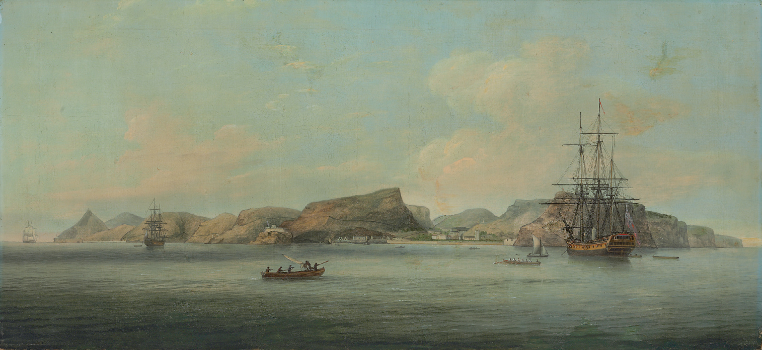 A view of St. Helena