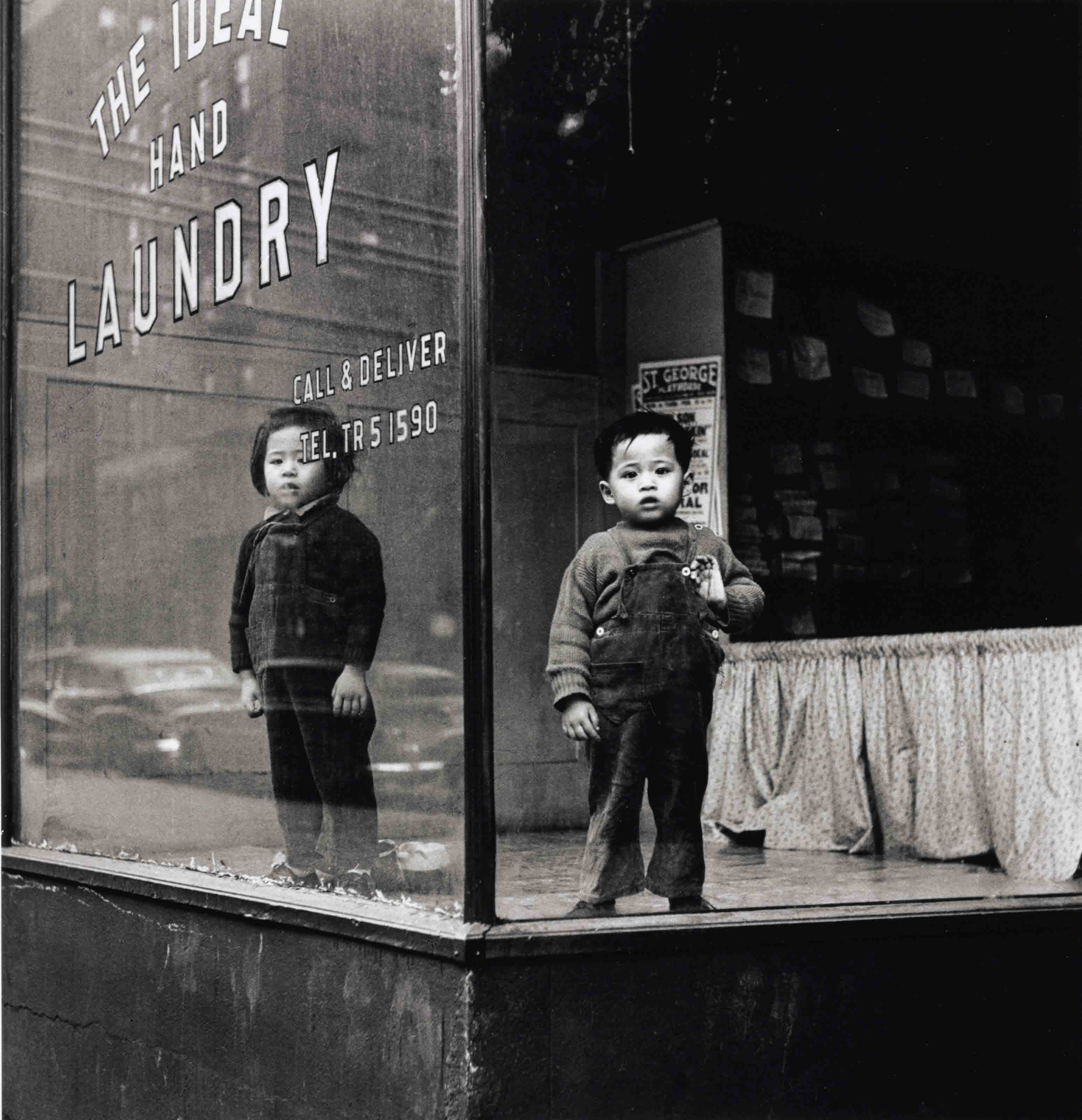 Ideal Laundry, New York, 1950