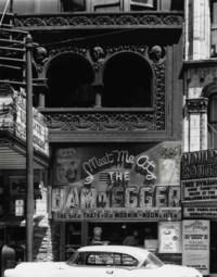Garrick (Schiller) Theater, Chicago, 1954