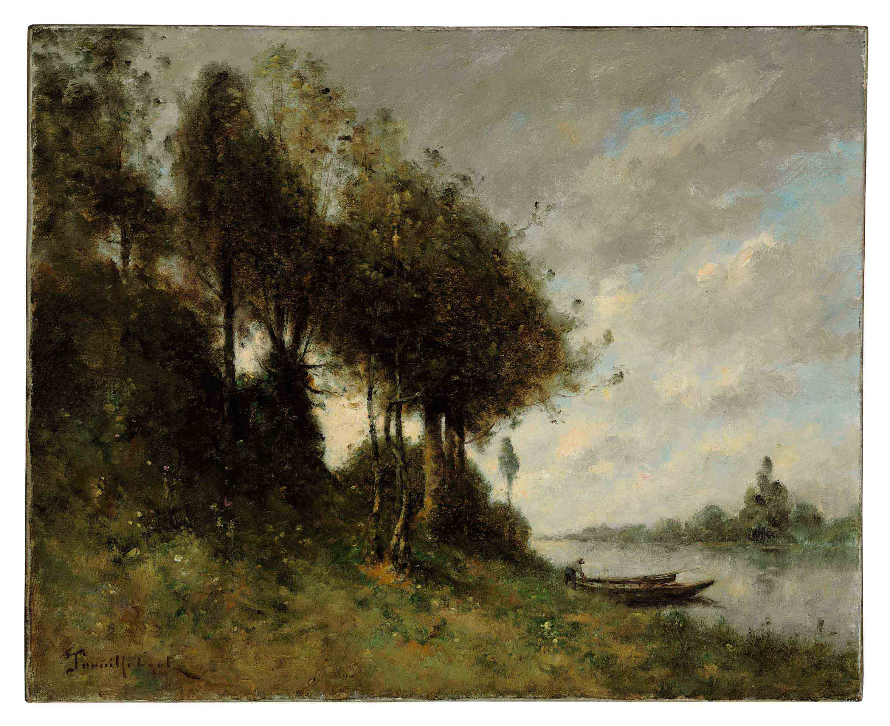 Les bords de la Loire