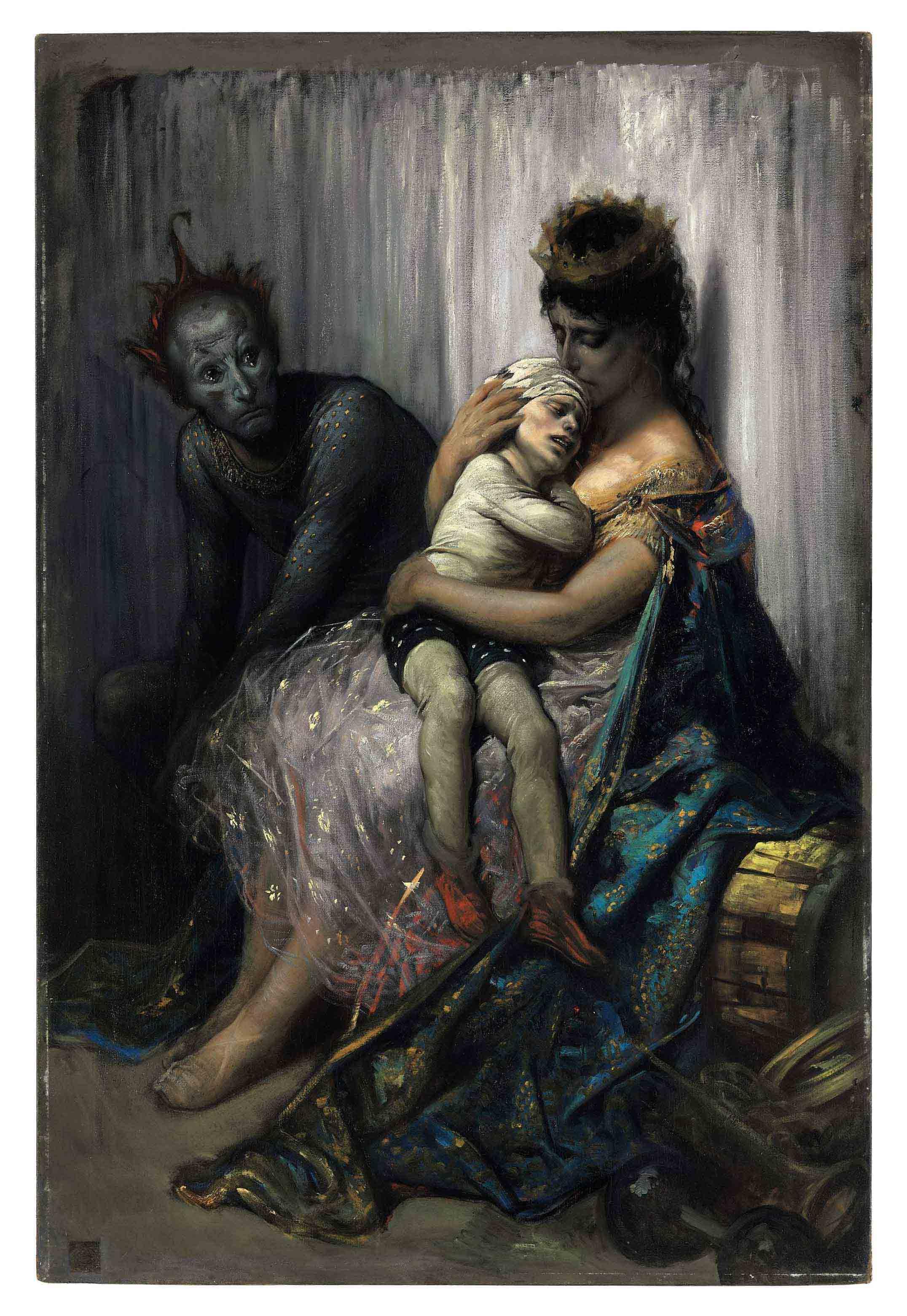 Audio: Gustave Dore's La famille du saltimbanque: l'enfant blessé