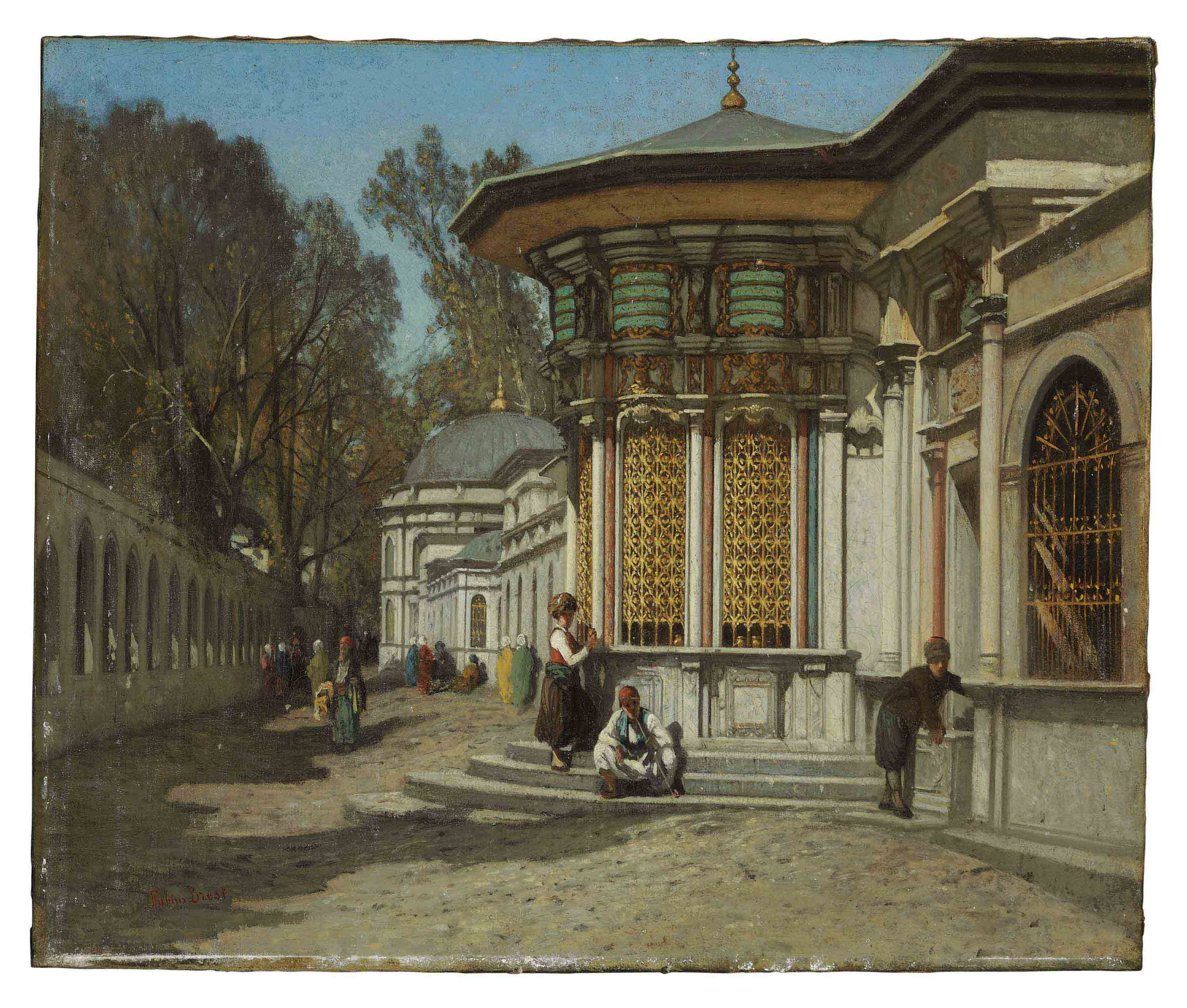 The Mausoleums near the Sehzadebasi Mosque, Istanbul