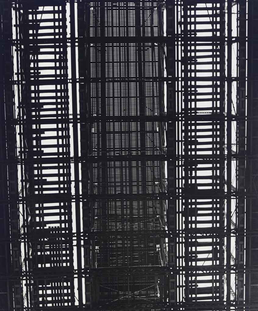 N.Y. - Underside of Brooklyn Bridge, 1940