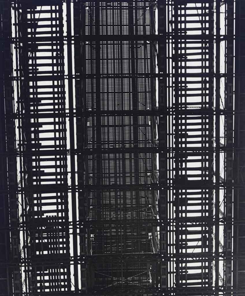 N.Y. - Underside of Brooklyn Bridge, 1940