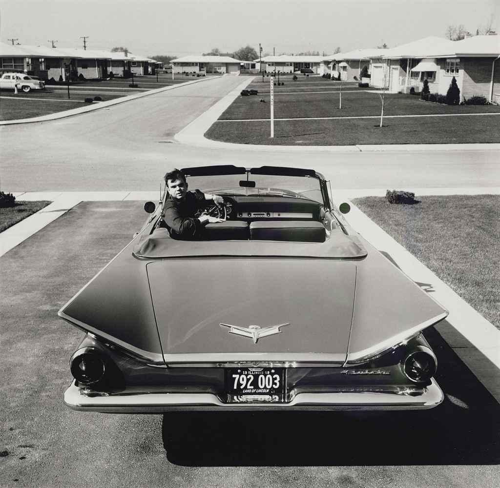 MICKEY PALLAS (1916-1997) , Buick Convertible, Chicago