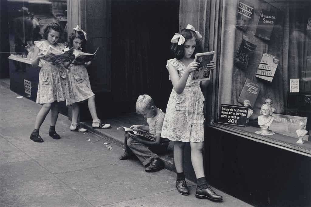 The Comic Book Readers, N.Y.C., 1947
