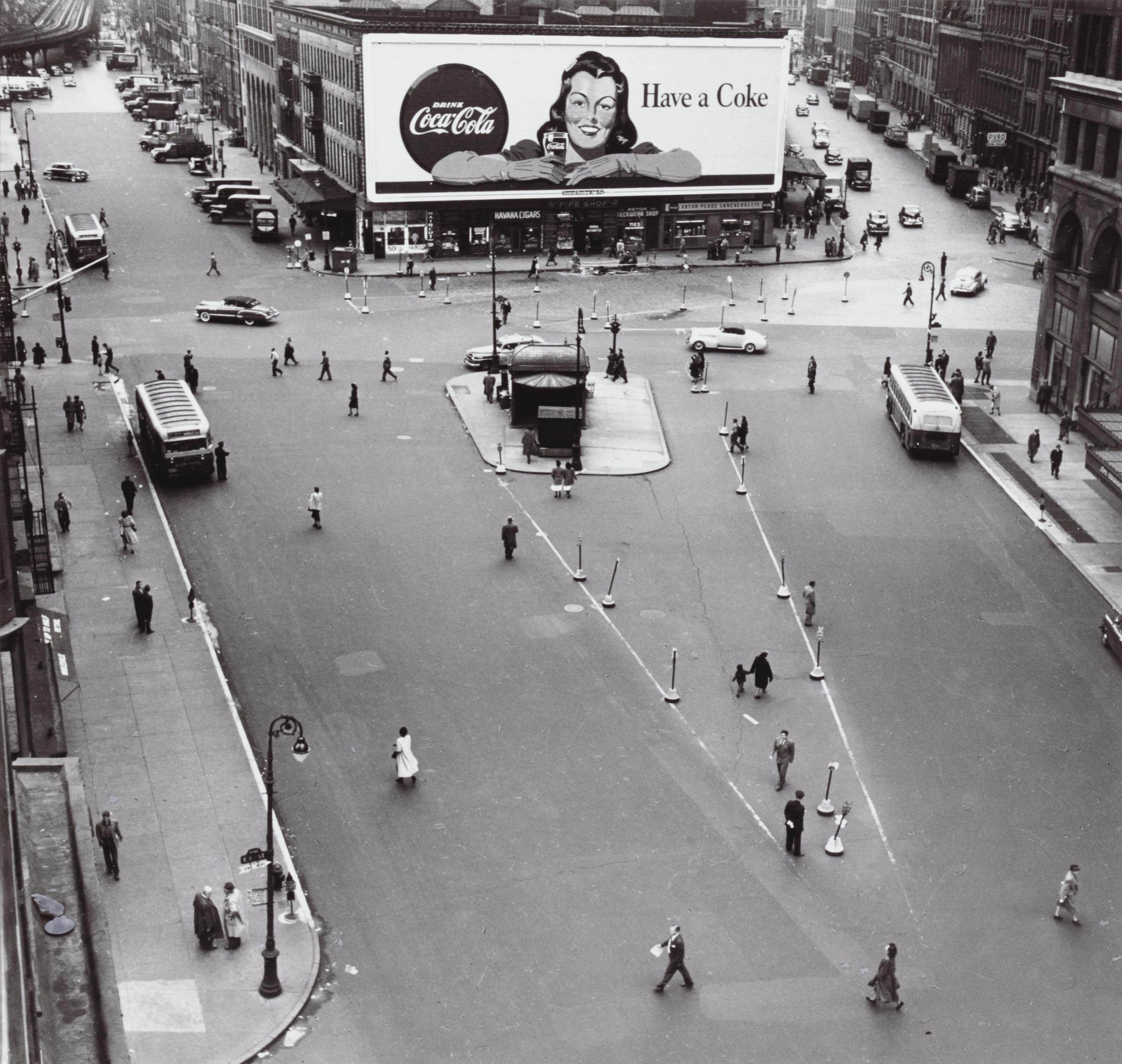 Astor Place, 1948