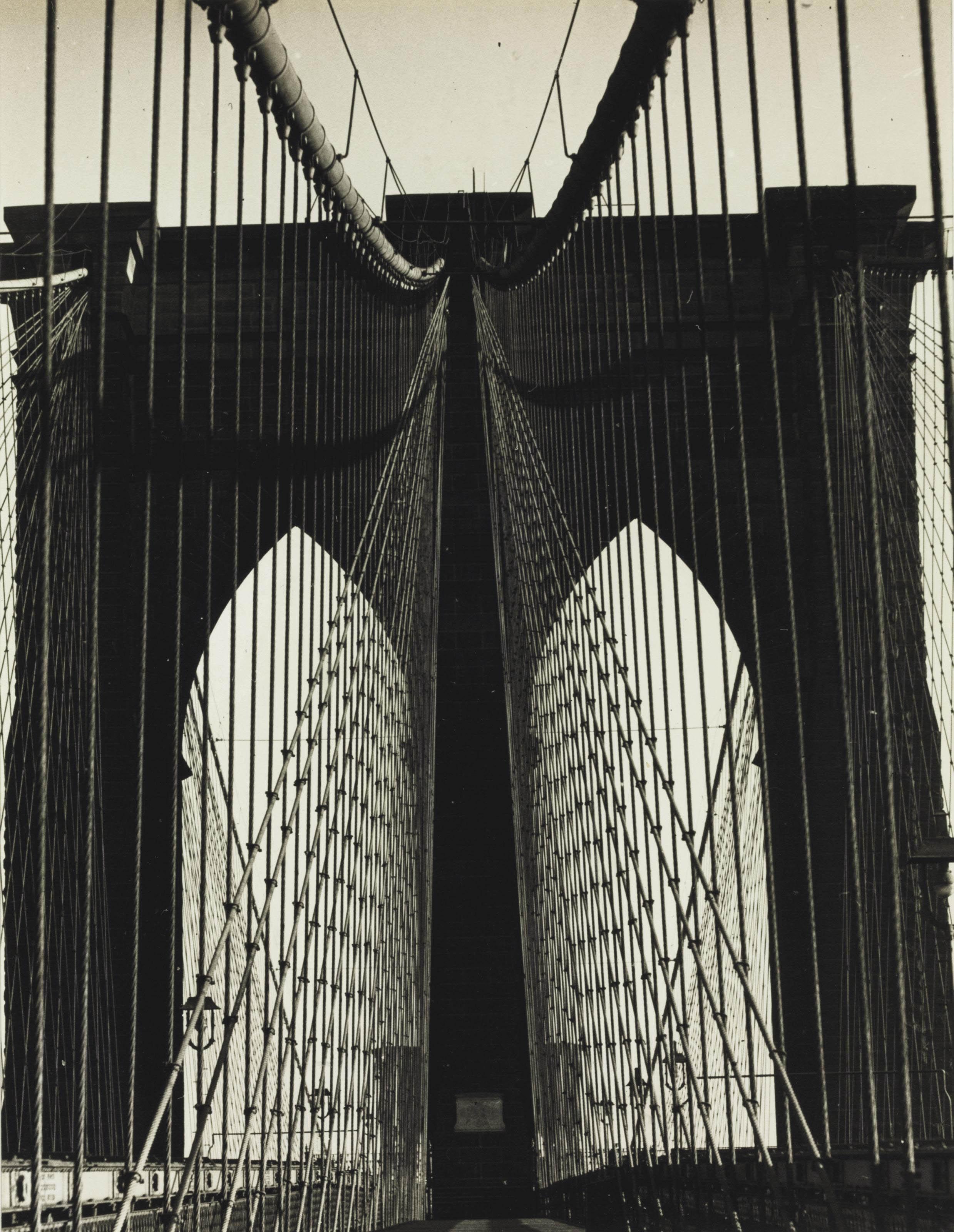 Brooklyn Bridge; and Lower East Side, 1947