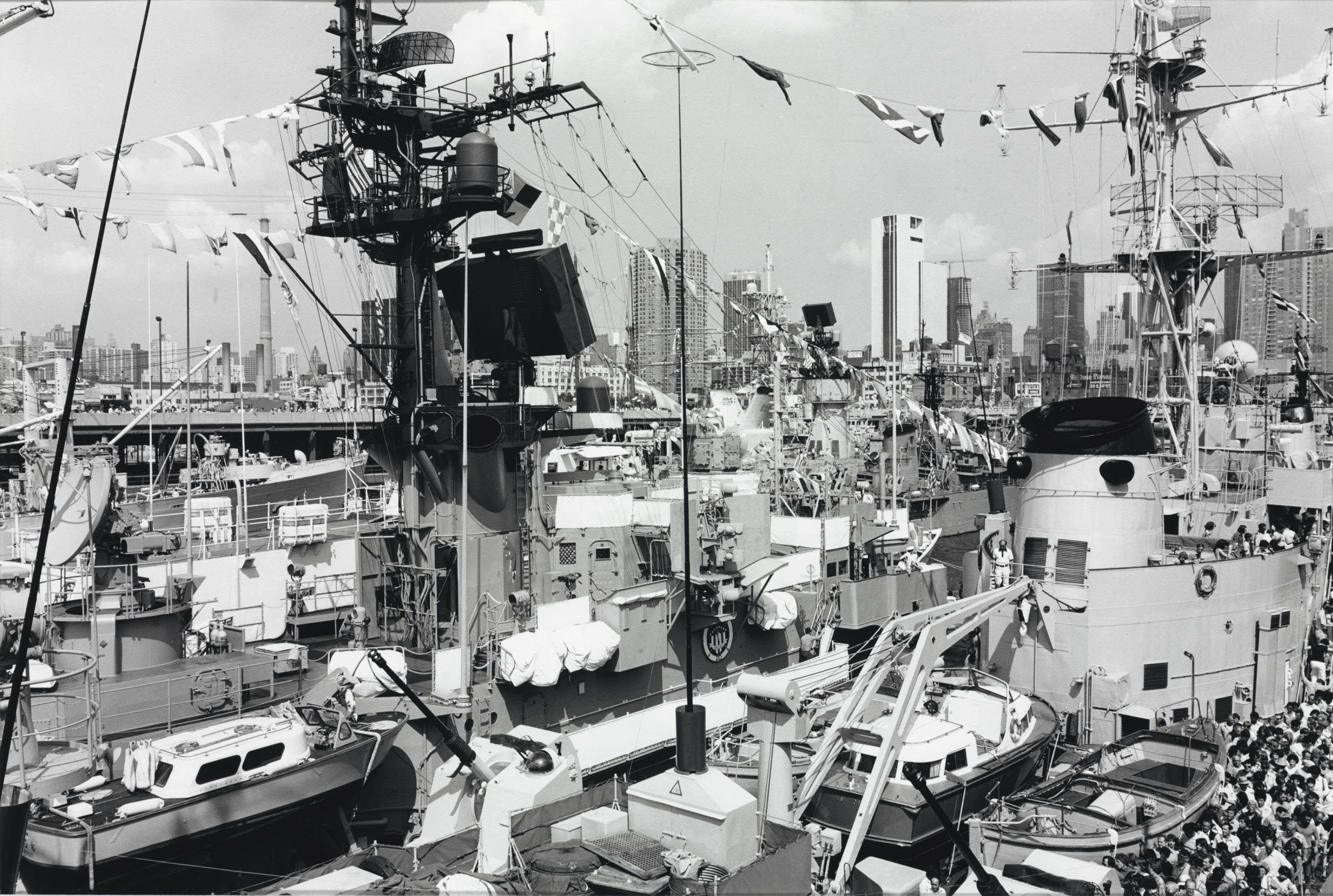 New York Pier, July 5, 1976
