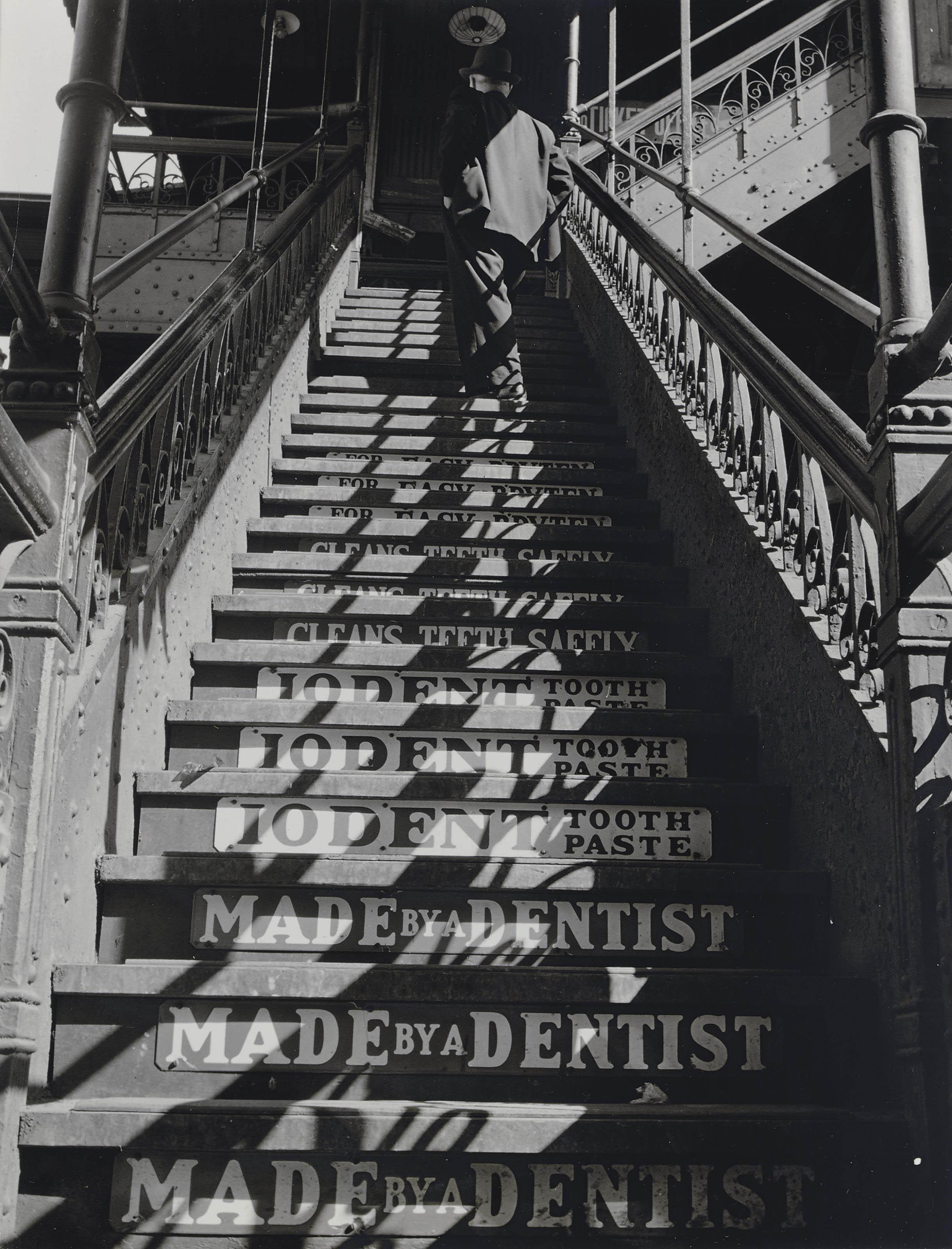 3rd Avenue El Stairs, 1937