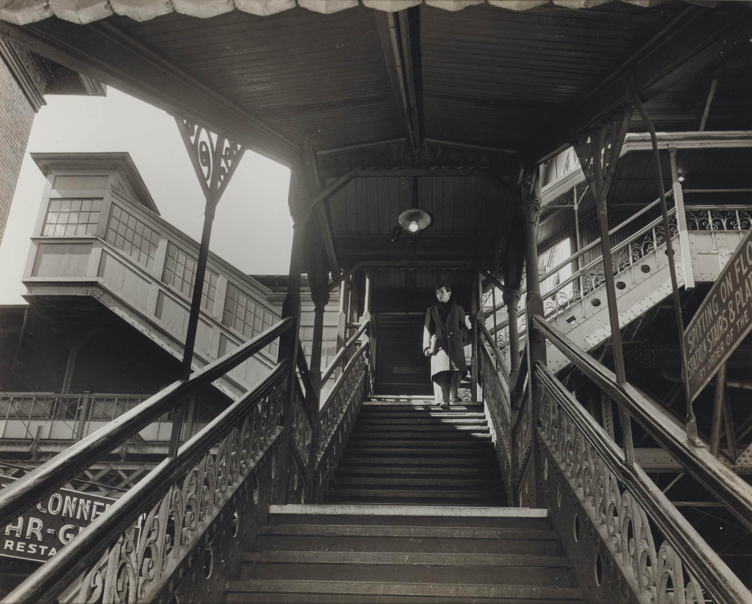 Third Avenue El, 23rd Street Station, 1950