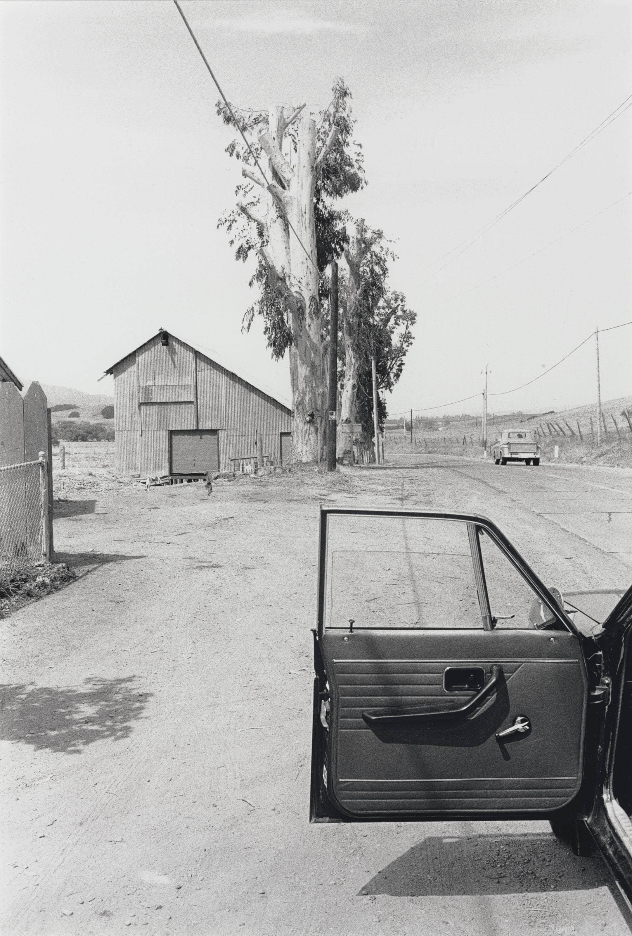 Olema, c. 1977; and Berkeley, California, 1975