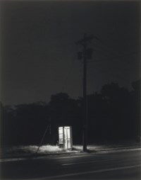 Telephone Booth, 3 a.m., Rahway, N.J., 1974