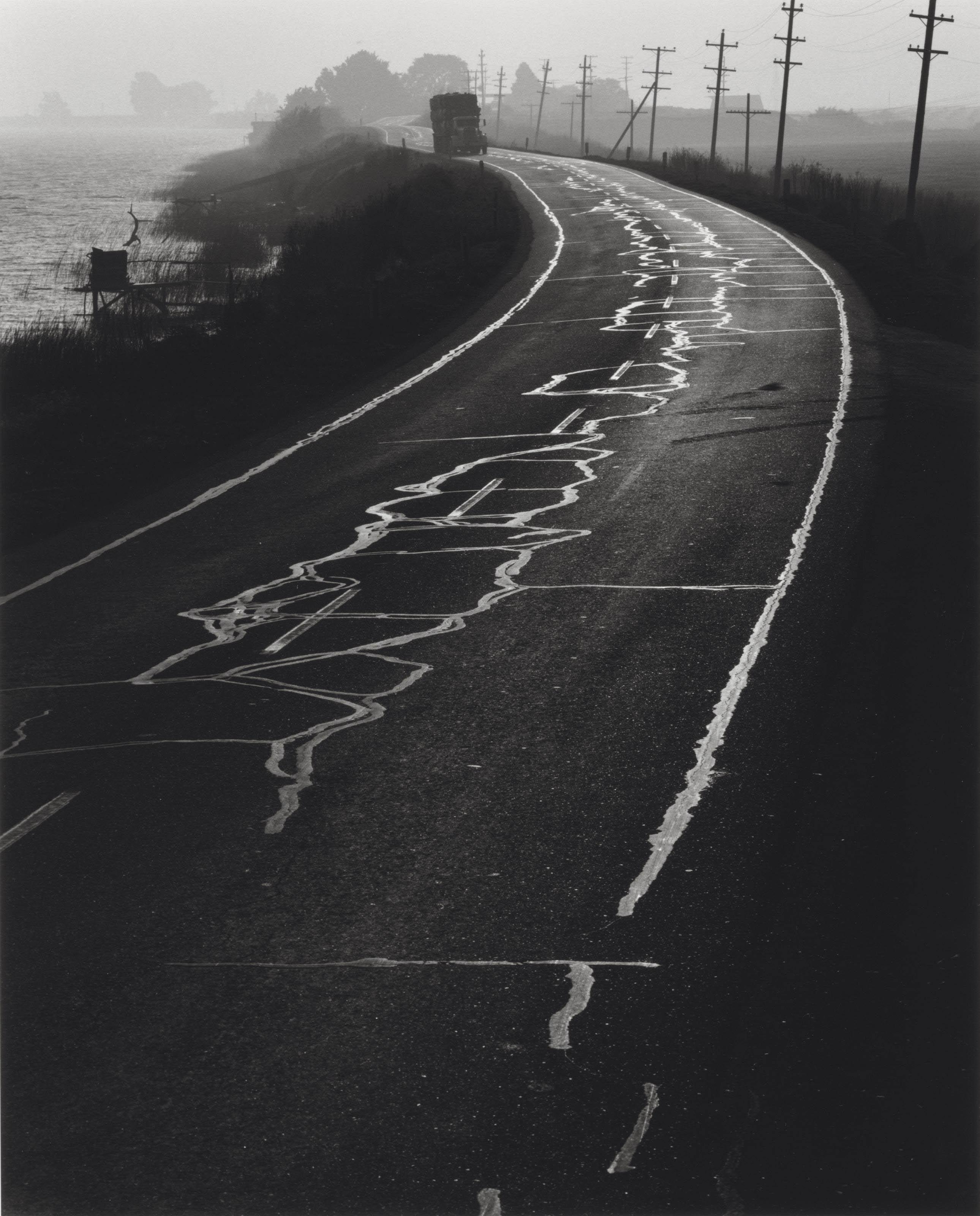 Untitled, 1968; and Sacramento, San Joaquin River Delta, 1967