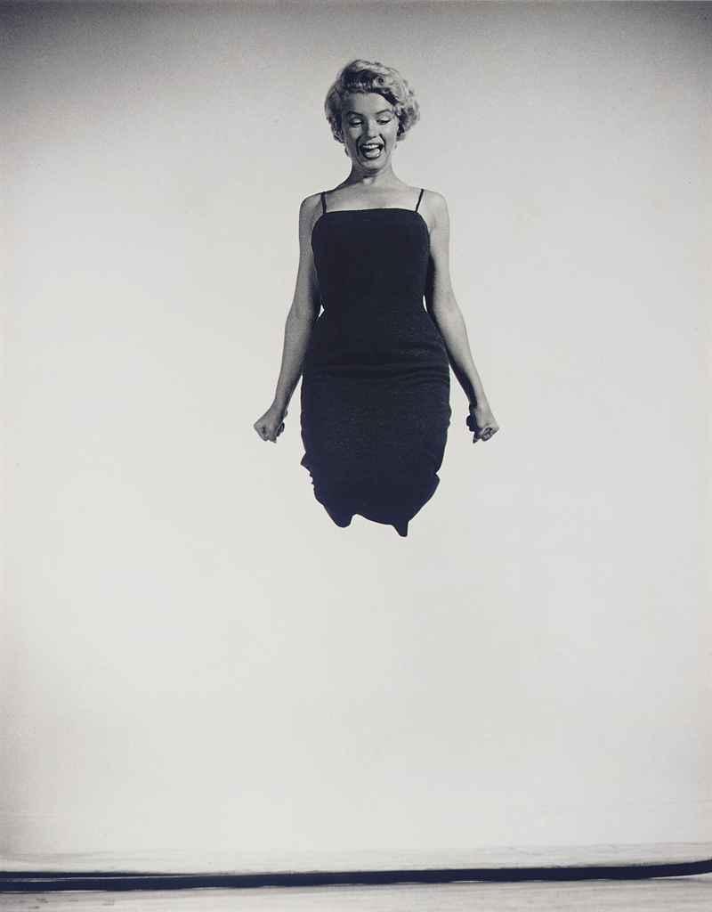 Marilyn Jumping, 1954