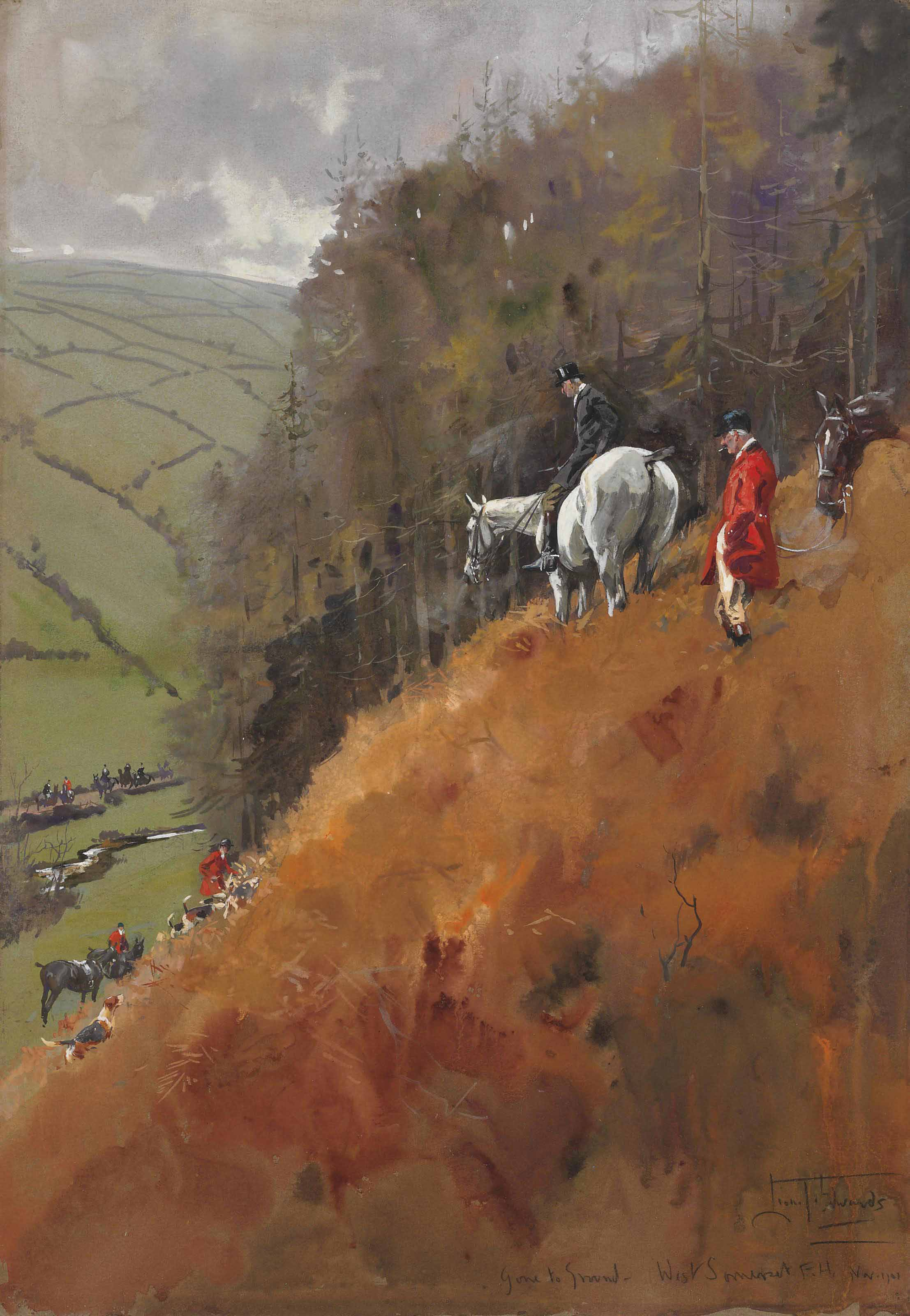 Gone to Ground - The West Somerset Foxhounds