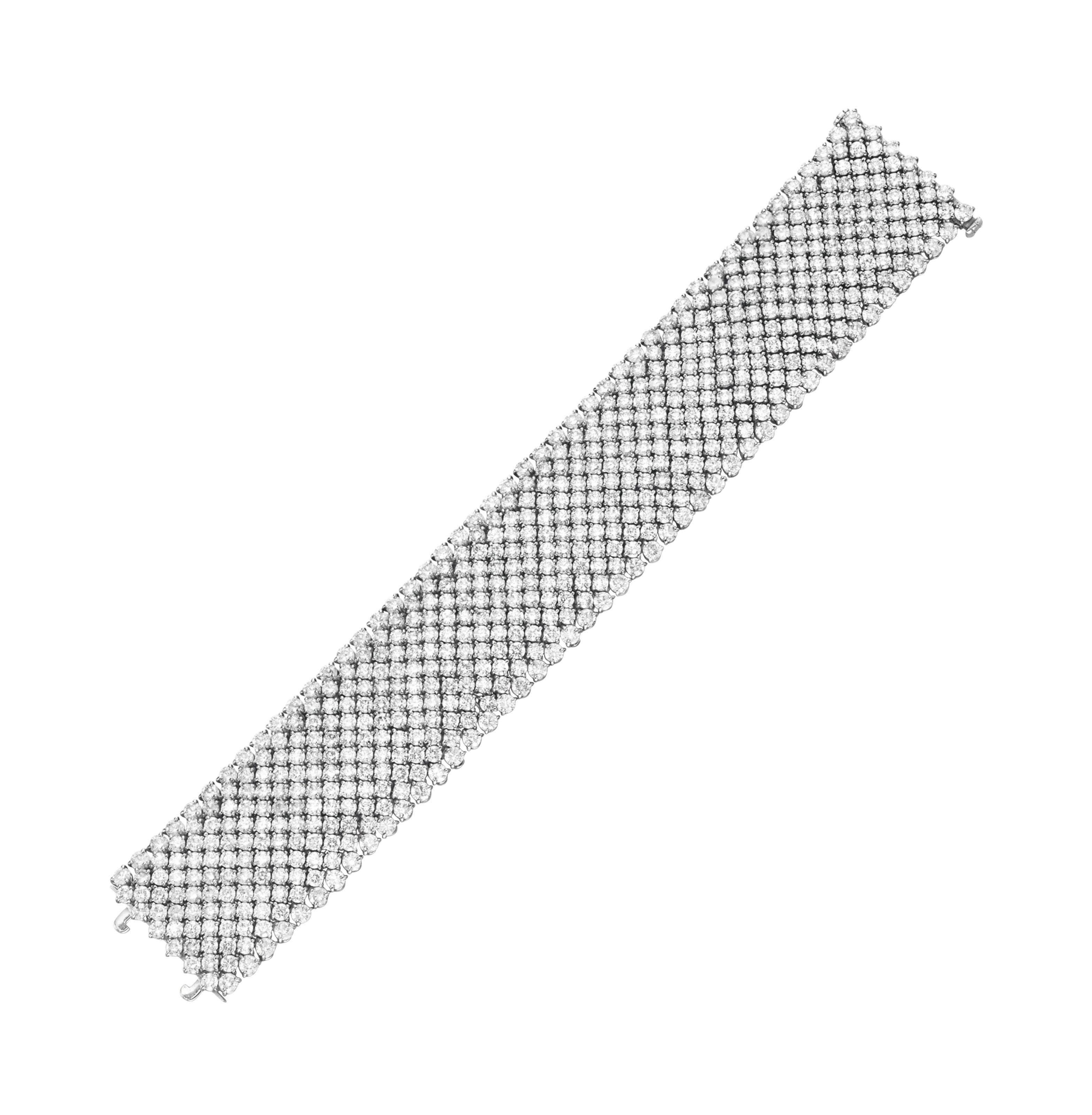 A DIAMOND BRACELET, BY HOUSE OF TAYLOR