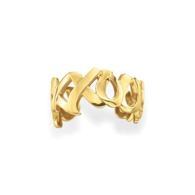 A GOLD CUFF BRACELET, BY PALOM