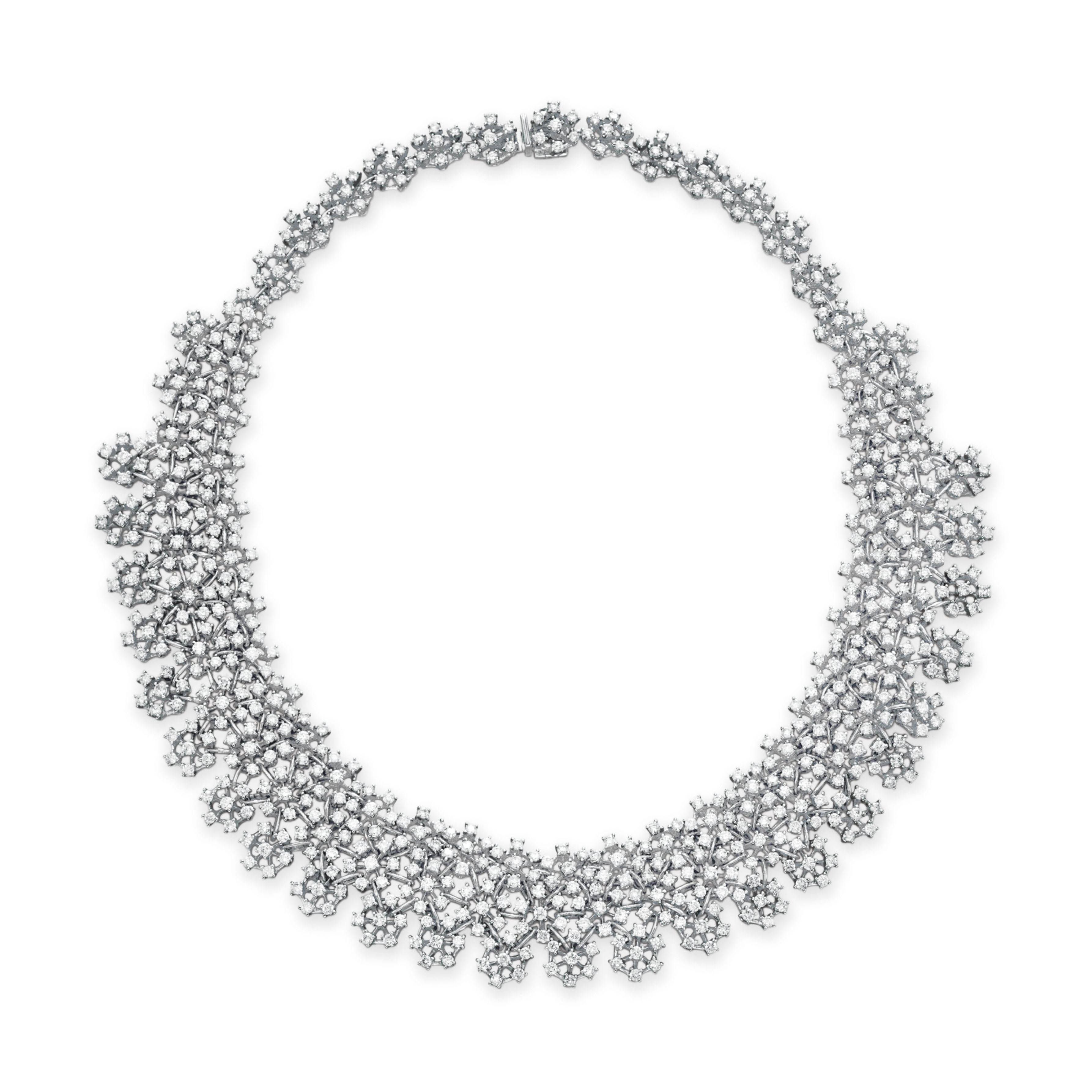 A DIAMOND NECKLACE, BY HOUSE OF TAYLOR