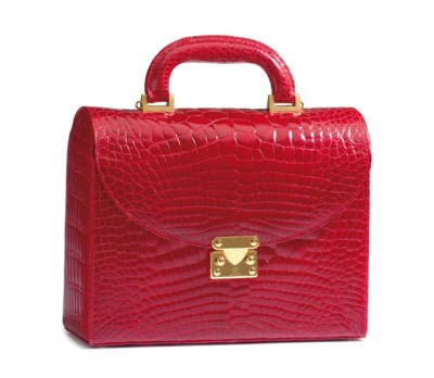 A CANDY APPPLE RED ALLIGATOR S