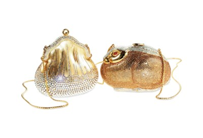 A CHATELAINE MINAUDIERE AND A