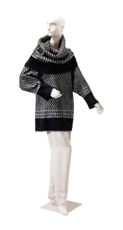 A GALLIANO BLACK AND WHITE MOH
