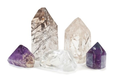 A Group of Five Mineral Specim