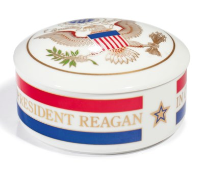 [REAGAN, Ronald.] A Tiffany &