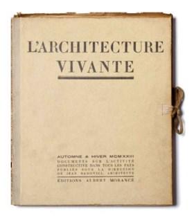 [LE CORBUSIER]. L'Architecture vivante. Documents sur l'acti