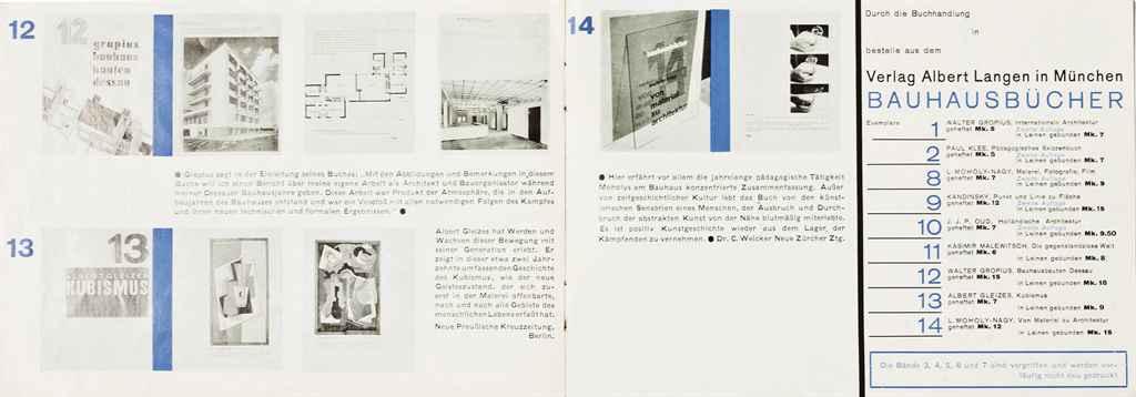 Moholy Nagy Gropius Walter 14 Bauhaus B Cher