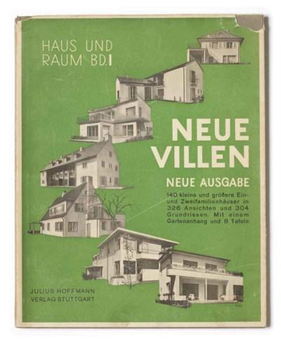 hoffmann herbert diteur neue villen neue ausgabe haus und raum ratgeber f r bauen und. Black Bedroom Furniture Sets. Home Design Ideas