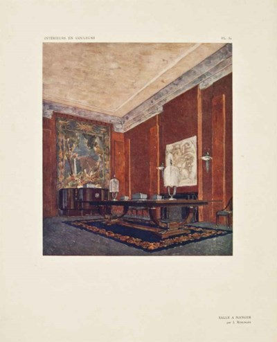 deshairs l on int rieurs en couleurs exposition des arts d coratifs paris 1925 paris. Black Bedroom Furniture Sets. Home Design Ideas