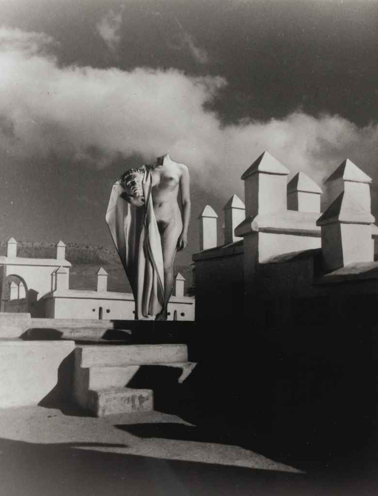 Nu à Tellouet Télouet, Maroc, 1936
