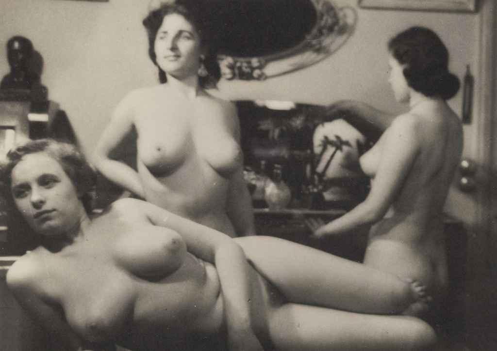 Sans titre (trois femmes), vers 1930
